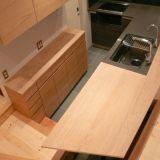 キッチンバックカウンター・吊戸棚